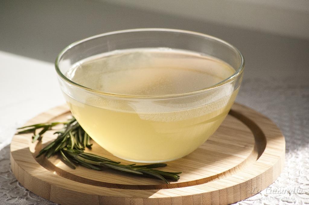 белый бульон для супа-велюте