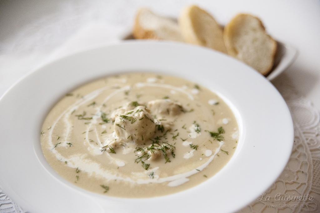 Суп-велюте «Дам Бланш»