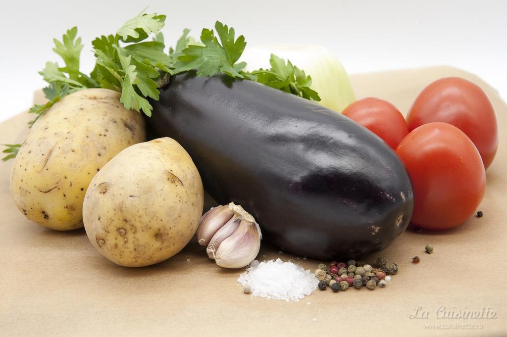 овощи для Мусака